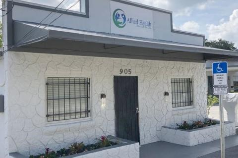Allied Health Clinic on Historic Goldsboro Blvd. in Sanford, FL
