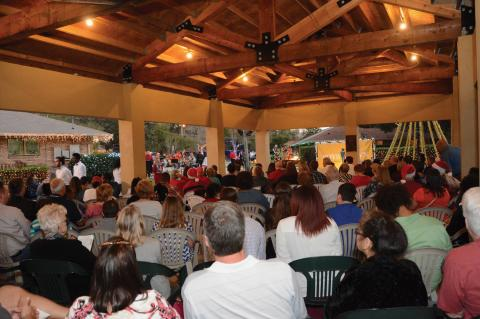 The annual Boys Town Central Florida tree lighting will be held this Sunday on Flanagan Loop in Oviedo.