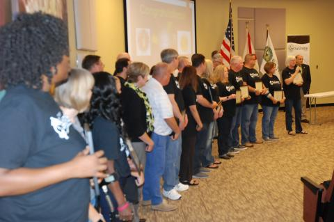 Thirty residents graduated from the 14th Class of the Citizens Academy Monday at the Sanford City Commission meeting.