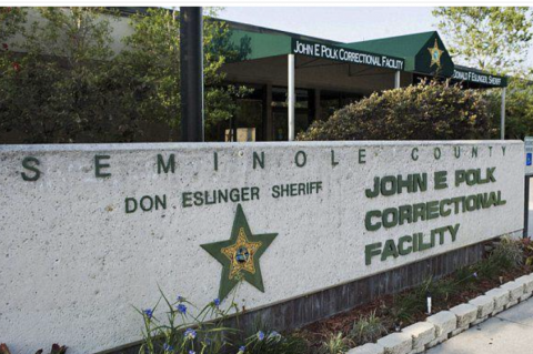 The Seminole County jail recently suffered an outbreak of Covid-19.