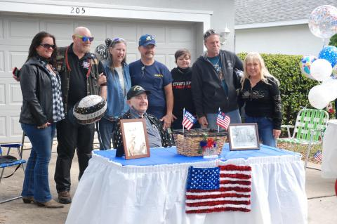 A current and former neighbor of DeBary resident Irving Meyer organized a huge celebration for for the veteran's 103rd birthday this past Sunday.