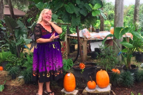 Susie Trimble (above), owner of Susie's Cool Beans Nursery in DeBary, was killed in a head-on collision last week.