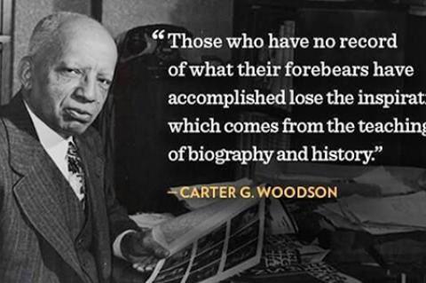 Dr. Carter G. Woodson, Founder, Black History Month
