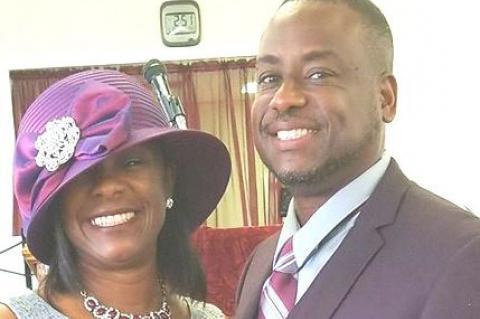Elder C.J. Haynes and Sis. Beatrice Haynes, New Salem Primitive Baptist Church