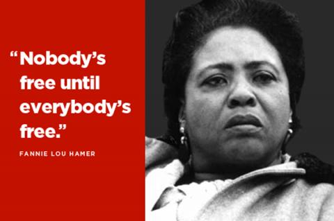 Fannie Lou Hamer, Civil Rights Activist