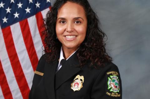 Fire Marshal Christina Diaz