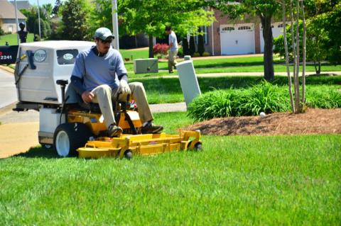 The app will allow homeowners to connect with lawn services in the area to get jobs done more quickly.