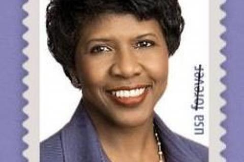 The Gwen Ifill Commemorative Postage Stamp
