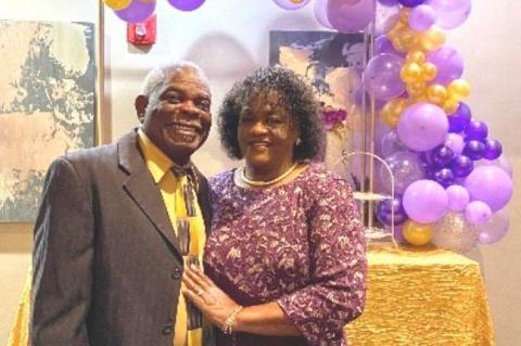 Happy 50th Wedding Anniversary Bro. Harrison and Evangelist Mildred Hampton