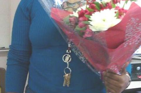 Kimkisha Hayes, Recipient, PMF Community Service Club 2020 Lift Award