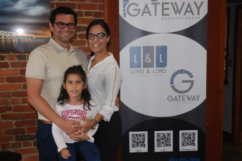 President David Lord and his wife, Maria Luisa, operate Gateway and Lord & Lord Consulting in Sanford.