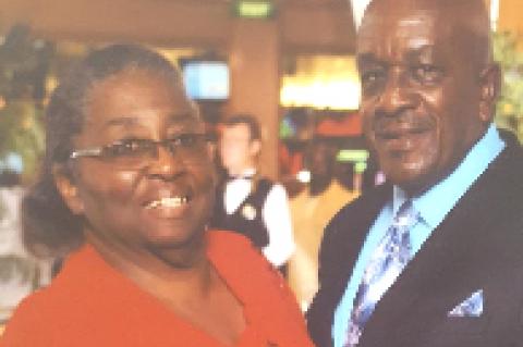 Happy 60th Wedding Anniversary Nathaniel and Barbara Jean Mitchell Williams
