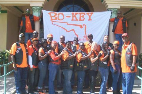 The Bo-Key Riders Motorcycle Club of Sanford